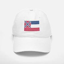 Vintage Mississippi State Flag Baseball Baseball Baseball Cap