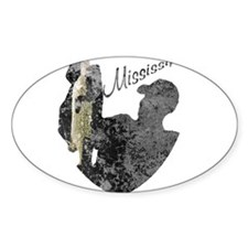Mississippi Fishing Decal