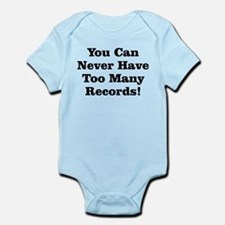 Never Too Many Records Infant Bodysuit