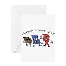 Missouri and Company Greeting Card