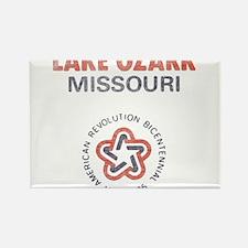 Vintage Lake Ozark Rectangle Magnet