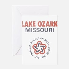 Vintage Lake Ozark Greeting Card