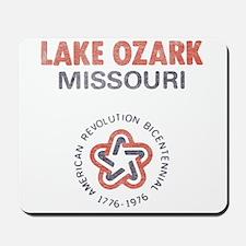Vintage Lake Ozark Mousepad