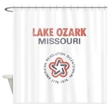 Vintage Lake Ozark Shower Curtain