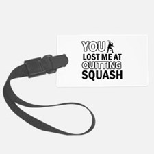 Squash gear and merchandise Luggage Tag
