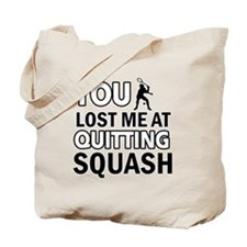 Squash gear and merchandise Tote Bag