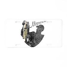 Missouri Fishing Aluminum License Plate