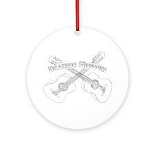 Branson Guitars Ornament (Round)