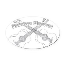 Branson Guitars Oval Car Magnet