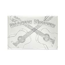 Branson Guitars Rectangle Magnet