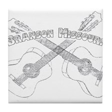 Branson Guitars Tile Coaster