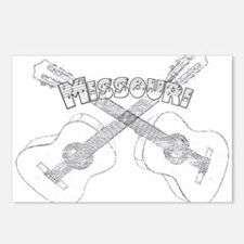 Missouri Guitars Postcards (Package of 8)