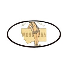 Faded Montana Pinup Patches