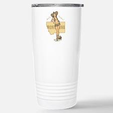 Faded Montana Pinup Travel Mug