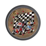 Auto racing Wall Clocks