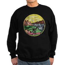 Montana Vintage State Flag Sweatshirt