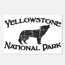 Yellowstone Wolf Postcards (Package of 8)