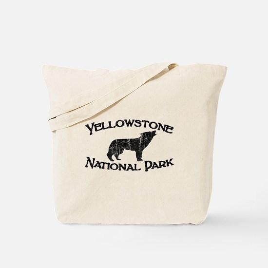 Yellowstone Wolf Tote Bag