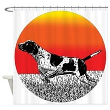 English Pointer Gifts Shower Curtain