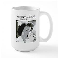 Hello Nursing School Mug