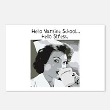 Hello Nursing School Postcards (Package of 8)