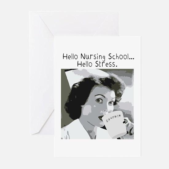 Hello Nursing School Greeting Cards (Pk of 10)