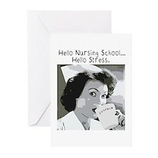 Hello Nursing School Greeting Cards (Pk of 20)