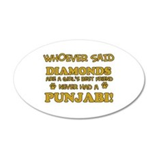 Punjabi Cat breed designs Wall Decal
