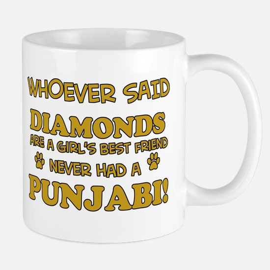 Punjabi Cat breed designs Mug