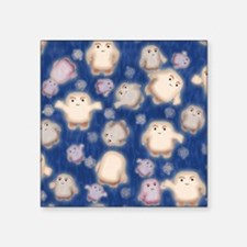 """We're not fat, just Adipose Square Sticker 3"""" x 3"""""""