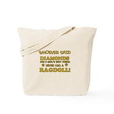Ragdoll Cat breed designs Tote Bag