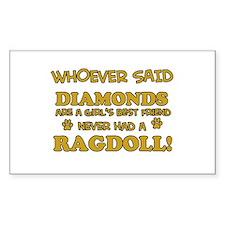 Ragdoll Cat breed designs Decal