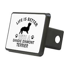 Dandie Dinmont Terrier dog gear Hitch Cover