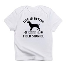 Field Spaniel dog gear Infant T-Shirt