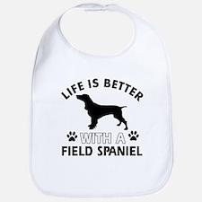 Field Spaniel dog gear Bib