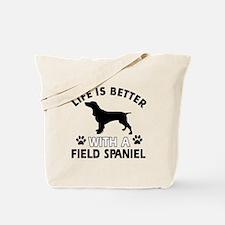 Field Spaniel dog gear Tote Bag