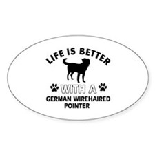 German Wirehaired Pointer dog gear Decal
