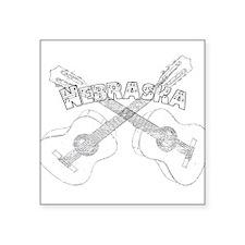 Nebraska Guitars Sticker