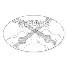 Nevada Guitars Decal