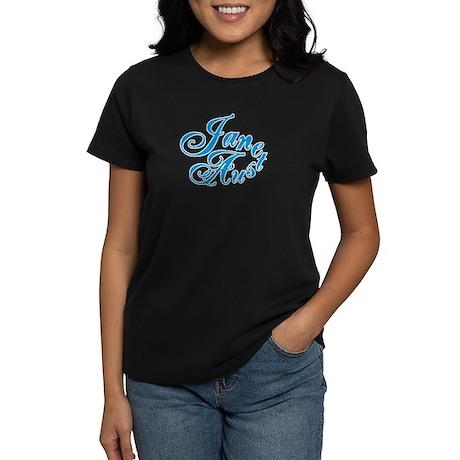 JANEAUSTEN Blue Women's Dark T-Shirt