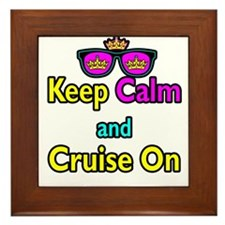 Crown Sunglasses Keep Calm And Cruise On Framed Ti