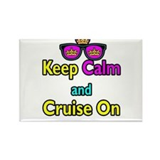 Crown Sunglasses Keep Calm And Cruise On Rectangle