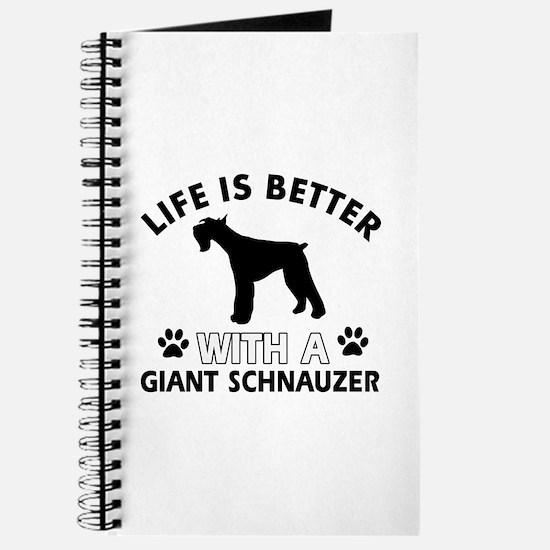 Giant Schnauzer dog gear Journal