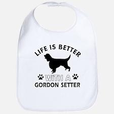 Gordon Setter dog gear Bib