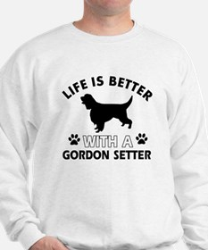 Gordon Setter dog gear Sweatshirt