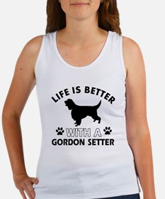 Gordon Setter dog gear Women's Tank Top