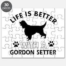 Gordon Setter dog gear Puzzle