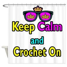 Crown Sunglasses Keep Calm And Crochet On Shower C
