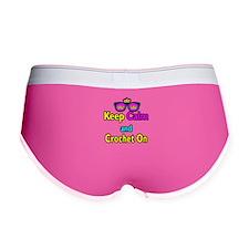 Crown Sunglasses Keep Calm And Crochet On Women's