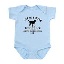 Greater Swiss Mountain Dog dog gear Infant Bodysui